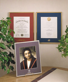 Tempo Diploma Framing Program